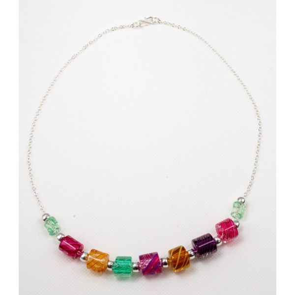 Madison Glass Necklace for Women